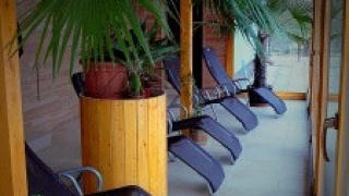 zimní zahrada - odpočívárna