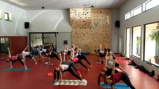 prostor tělocvičny